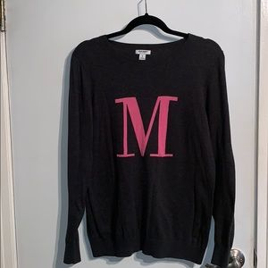 """M"" Long Sleeve Shirt"